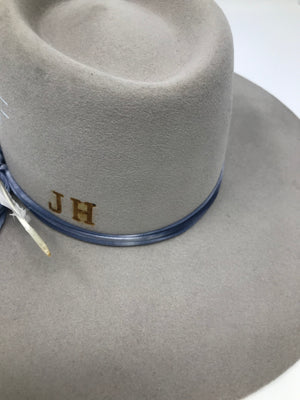 branding will go on the back left of the hat
