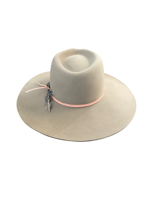 MONTANA FELT FEDORA PUTTY