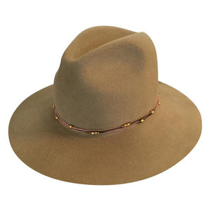 Brookyn Fedora in Putty by Lovely Bird