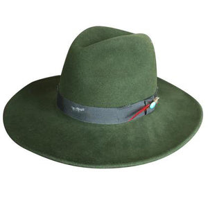 Dallas Fedora in Army by Lovely Bird