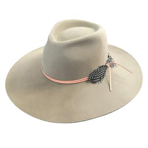 Montana Felt Fedora in Putty by Lovely Bird