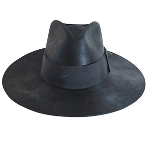 Verona black hat by Lovely Bird