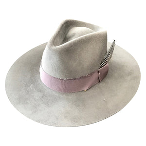 Verona Hat in Rock Grey by Lovely Bird