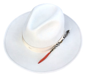 DALLAS FEDORA IN CREAM - pre order - shipping early December