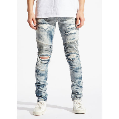 Embellish Jazmin Biker Denim