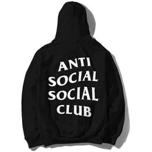 Load image into Gallery viewer, Anti Social Social Club Mind Games Zip Up - Black