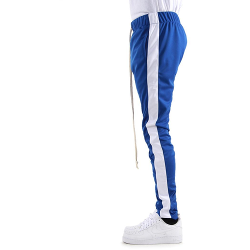 EPTM Blue Track Pants w/White Stripe