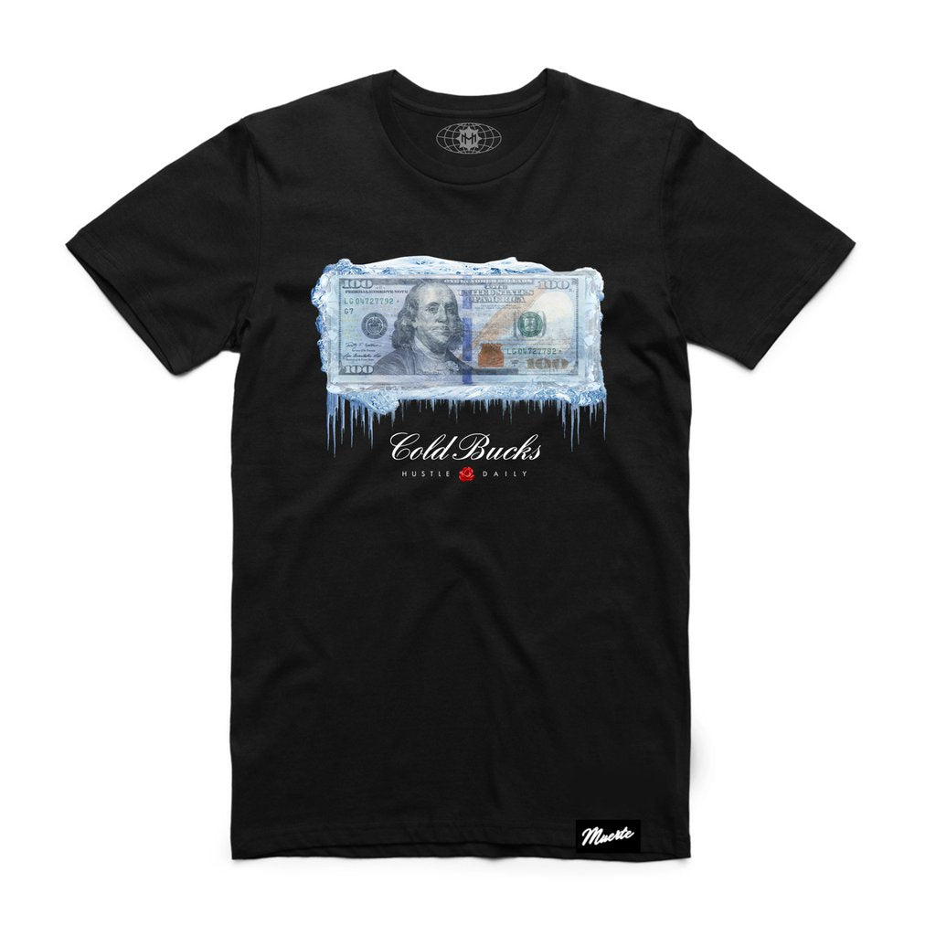 Hasta Muerte Cold Bucks Black Tee