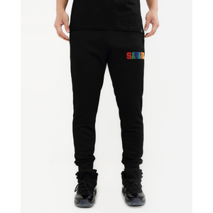 "Hudson ""Savage"" Black Joggers"
