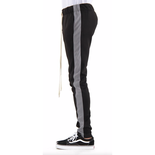 EPTM Black Track Pants w/Grey Stripe