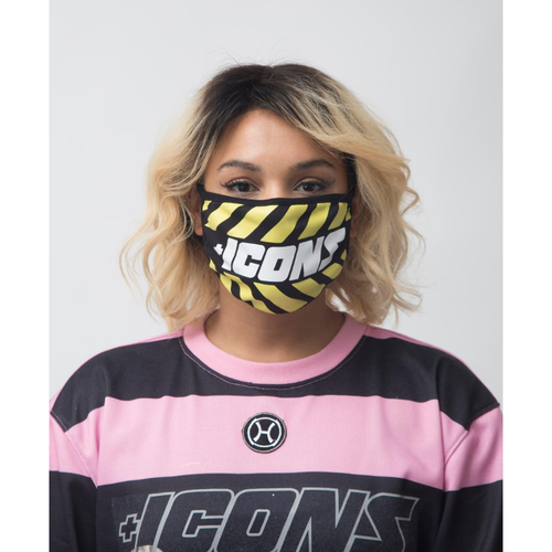 Hudson ICONS Face Mask Yellow