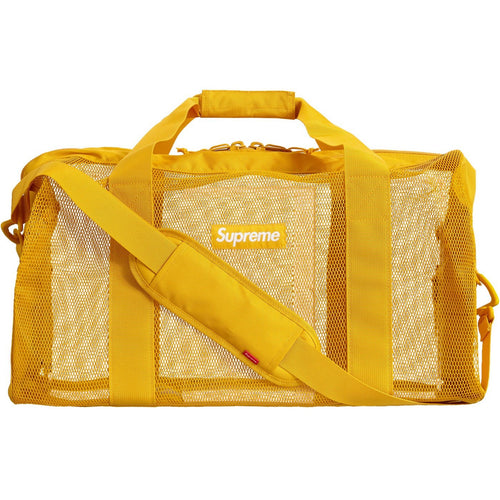 Supreme Big Duffle Bag (SS20) - Gold