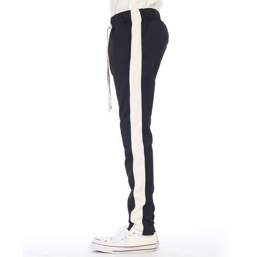 EPTM Black Track Pants w/White Stripe