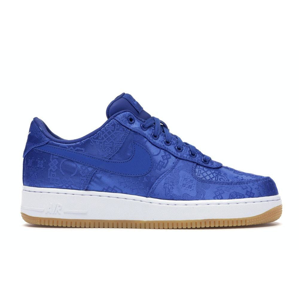 Nike Air Force 1 Low - CLOT Blue Silk