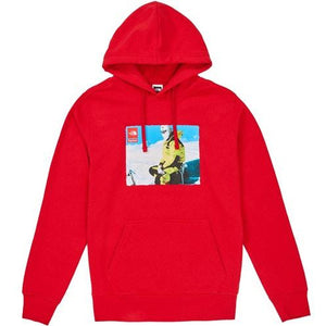 Supreme The North Face Photo Hooded Sweatshirt - Red