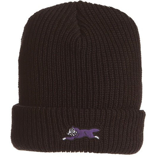 Ice Cream Colors Knit Black Beanie (401-9805)
