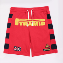 Load image into Gallery viewer, BP KIDS  Red Game Stripe Shorts