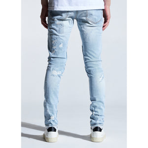 Embellish Light Indigo Troy Biker Jeans (EMBSUM20-104)