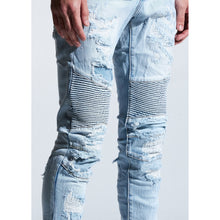 Load image into Gallery viewer, Embellish Light Indigo Troy Biker Jeans (EMBSUM20-104)