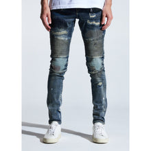 Load image into Gallery viewer, Embellish Indigo Stitch Western Biker Jeans (EMBSUM20-107)