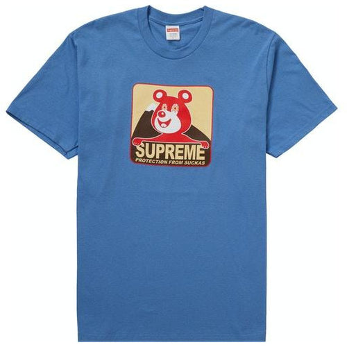 Supreme Bear Tee - Dusty Light Royal