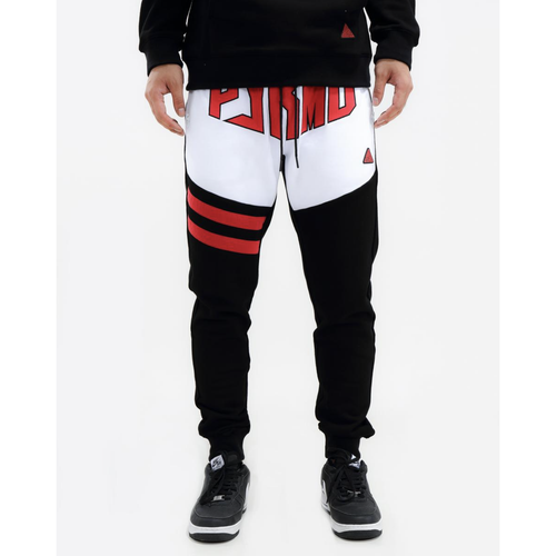 Black Pyramid Chenille Hex Logo Black Pants
