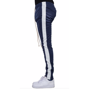 EPTM Navy Track Pants w/White Stripe