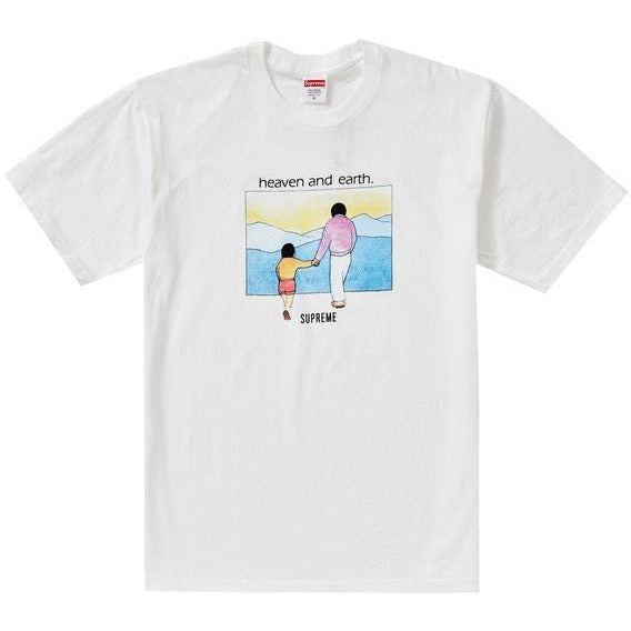 Supreme Heaven And Earth Tee - White