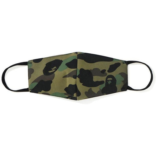 BAPE Full 1st Camo Mask - Green