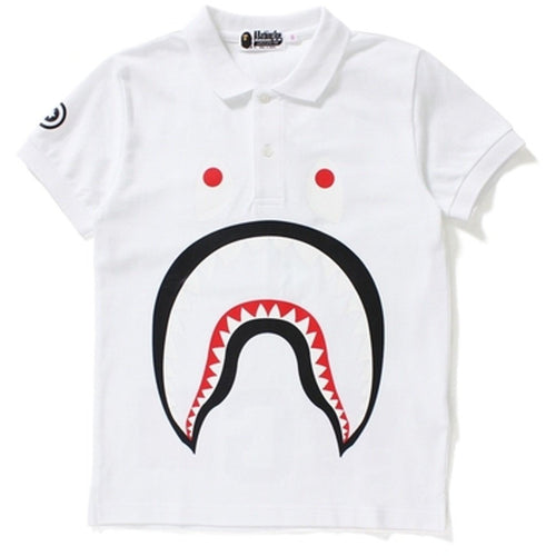BAPE Shark Polo - White