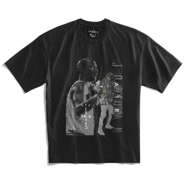 Travis Scott Jordan Tee - Black