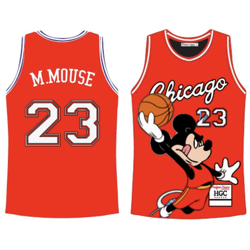 Headgear Chicago Mickey Red BBJ Jersey