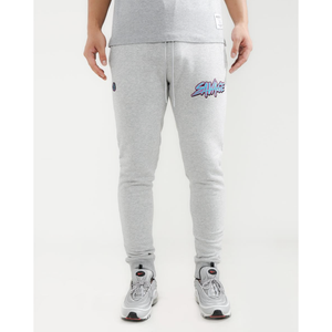 "Hudson ""Savage"" Slash Logo Grey Joggers"