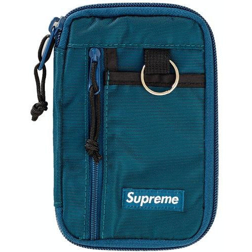 Supreme Small Zip Pouch - Dark Teal