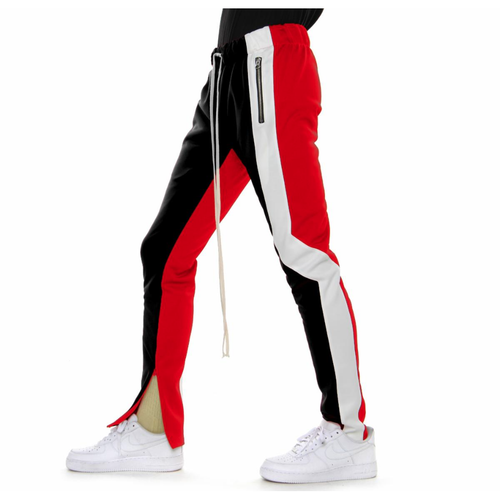 EPTM Offset Black/Red Track Pants