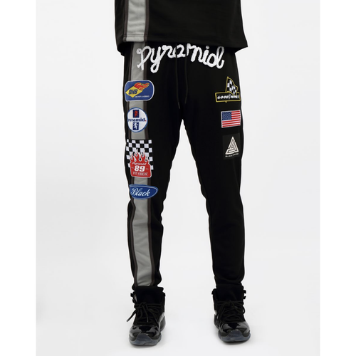 Black Pyramid Grease Monkey Black Joggers