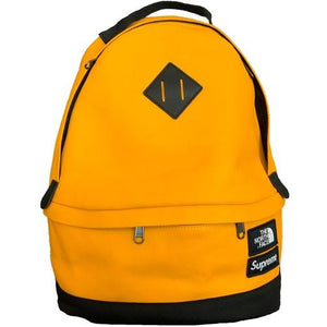 Supreme The North Face Leather Day Pack - Yellow