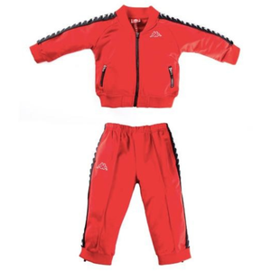 KIDS/Infant  Kappa Dark Red 222 Banda Sbain Track Suit (304N1F0K-924)