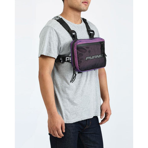 Black Pyramid Purple Chest Rig Bag