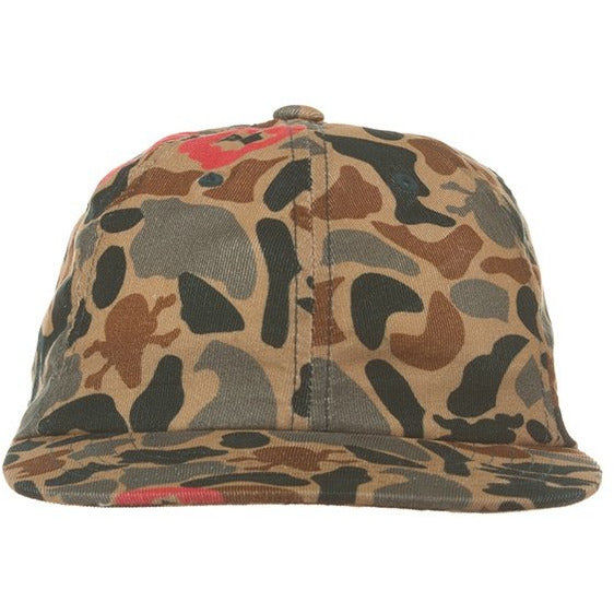 Ice Cream Camo Leaf Polo Hat (401-9801)