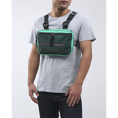 Black Pyramid Turquoise Chest Rig Bag