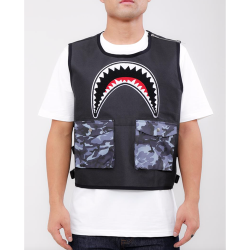 Hudson Utility Sharks Mouth VEST Black (H6052932)