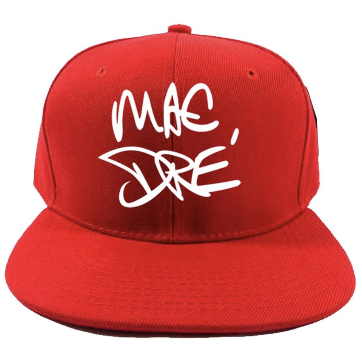 Thizz Nation Mac Dre Snap Back in Red
