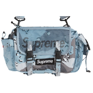 Supreme Waist Bag (SS20) - Blue Chocolate Chip Camo