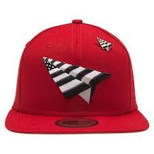 Paper Planes Crimson Crown Red Snapback
