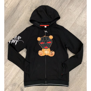 Black Keys BKYS StickUp Artist Black Zip Up Hoodie