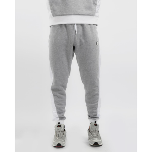 Black Pyramid Flight Inset Grey Joggers (Y4162086-HTR GRY)