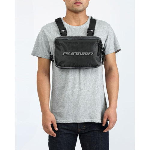 Black Pyramid Silver Chest Rig Bag 2.0
