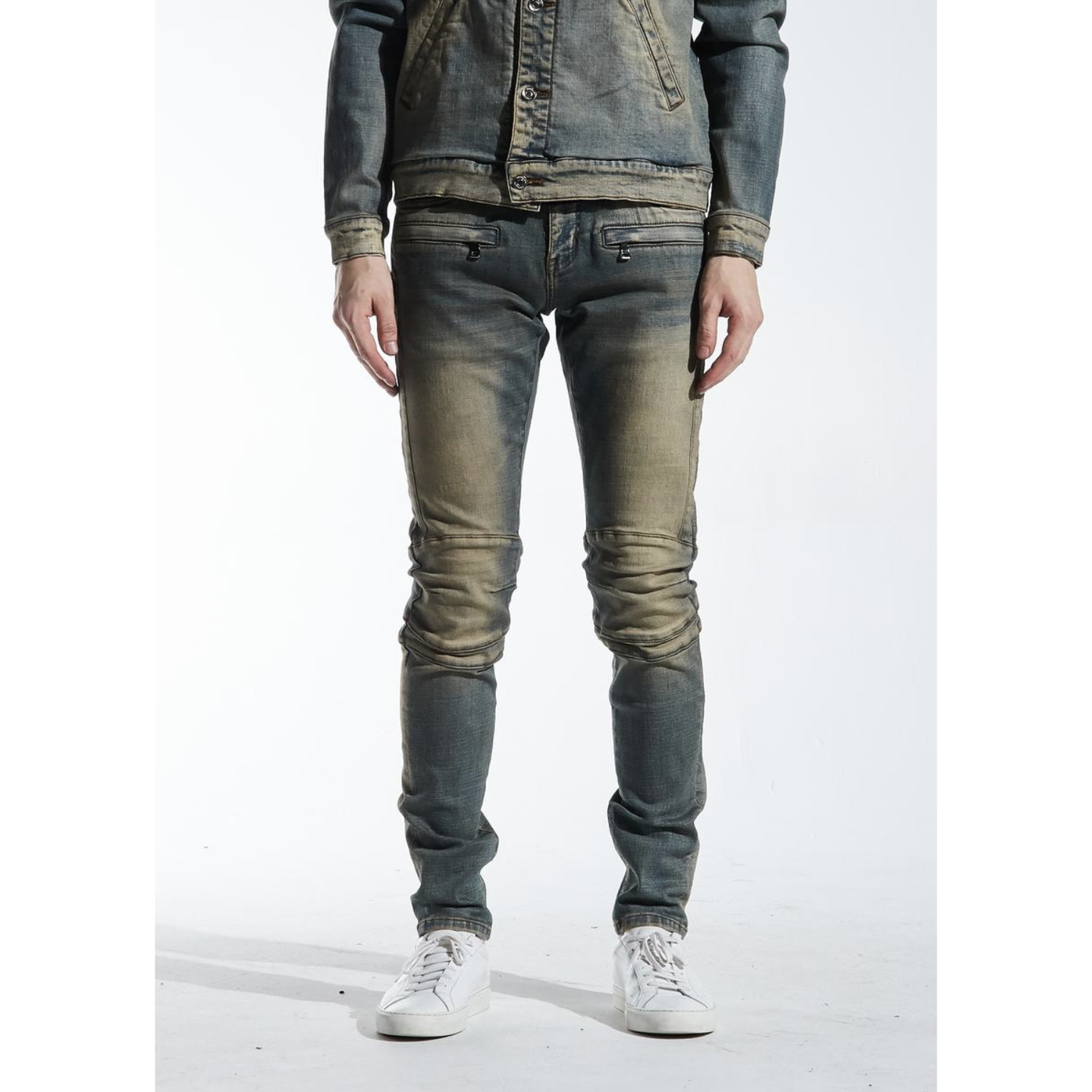 Crysp Denim Sand Wash Hudson Denim Jeans (CRYSPSP220-129) In Stock