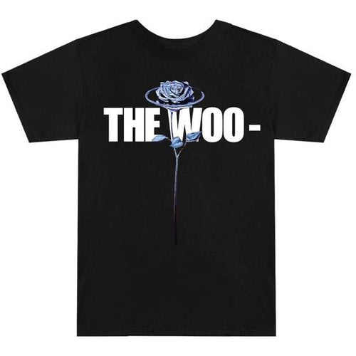 Pop Smoke x Vlone The Woo T-Shirt - Black